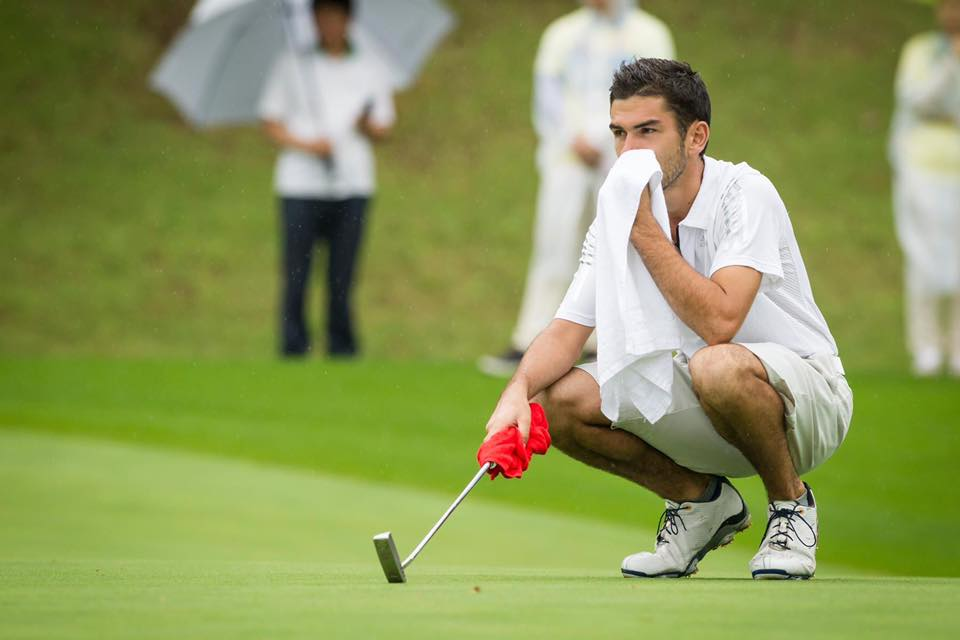 Nicolas Platret golf Universiades